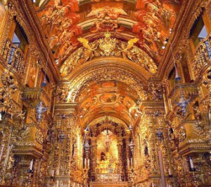 Eglise Sao Francisco de Porto, fleuron des splendeurs de l'époque baroque