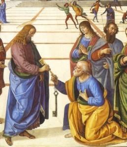 La Remise des clés à Saint Pierre par Le Pérugin