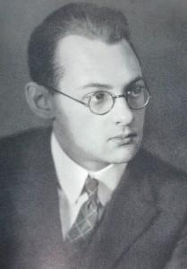 von Balthasar jeune étudiant en littérature germanique à Vienne en 1927