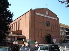 L'église Sainte Marie Goretti à Rome