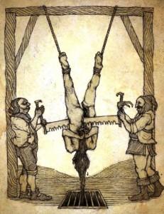 Le désir de tuer, même lorsqu'il est ritualisé, peine à masquer la jouissance et le plaisir pervers de l'acte. C'est un orgasme.